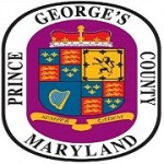 Prince George's (PG) County, Maryland seal featuring a coat of arms.